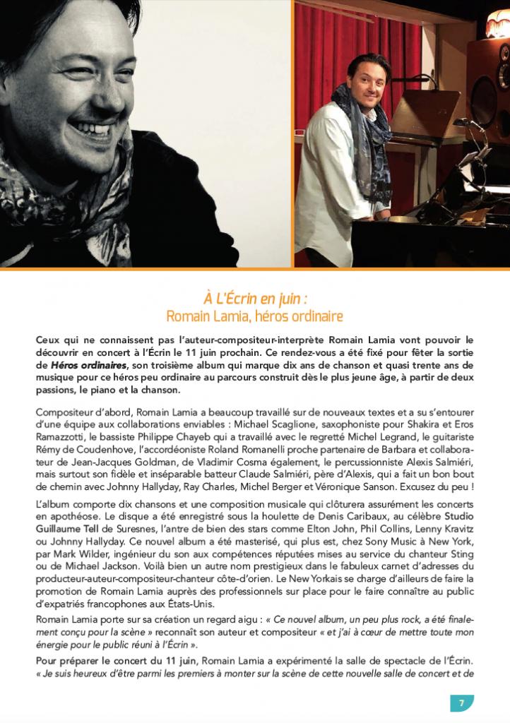 "Double Page ""Talant Magazine"" (P1)"
